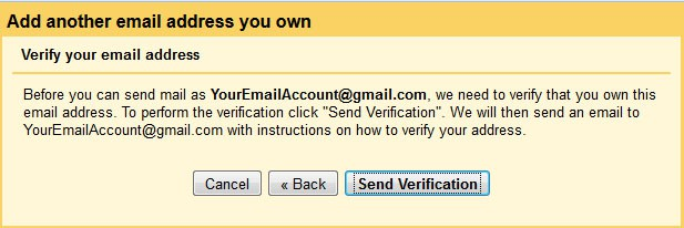 confirm the ownership of your email address
