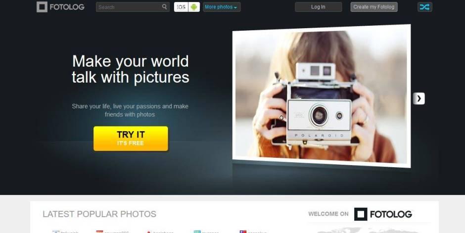 Fotolog Free Image Sharing Websites