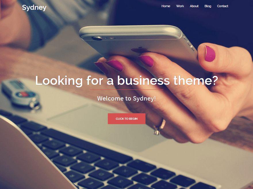 Sydney Free wordpress business theme