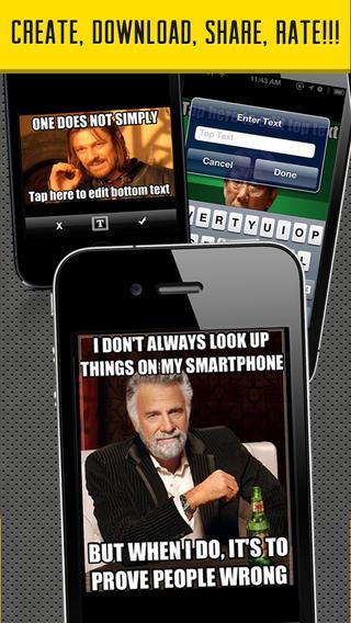 Meme Factory Best Meme Apps For iPhone