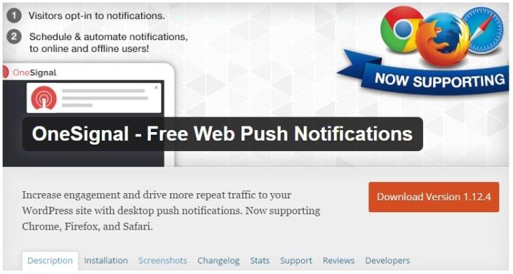 OneSignal - Free Web Push Notifications