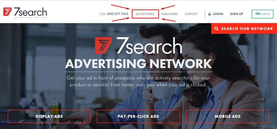 Using 7Search to find long tail keyword