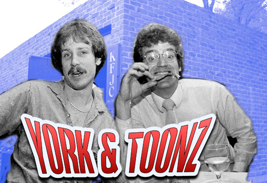 York & Tunes - the KFJC dynamos
