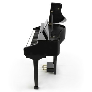 Digital Baby Grand - Side View