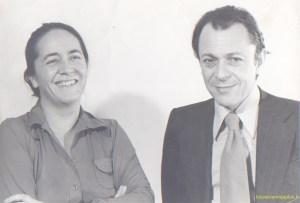En 1986 avec Martine Frachon lors des élections législatives