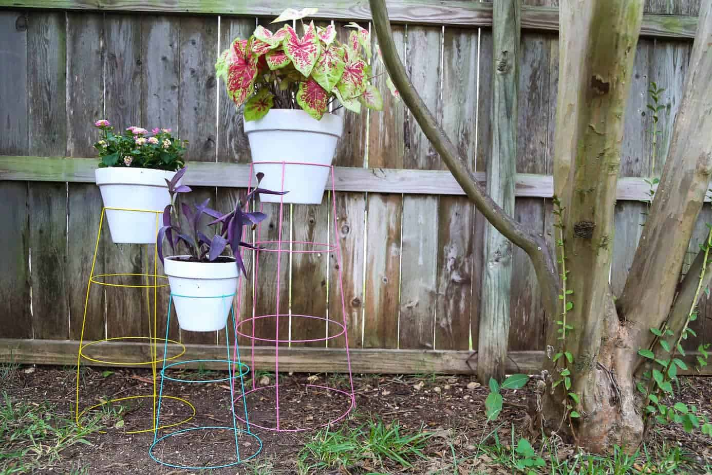 Glomorous Diy Plant Stand From Tomato Cages Diy Plant How To Turn A Tomato Cage Into A Wire Plant Stand Texas Tomato Cage Reviews Texas Tomato Cages Home Depot houzz 01 Texas Tomato Cages
