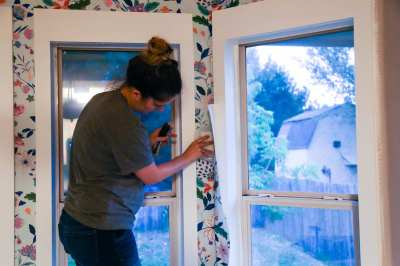 How to Install Wallpaper (Plus an Anthropologie Wallpaper Review)