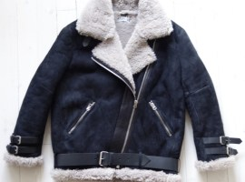Acne Velocite Shearling Jacket