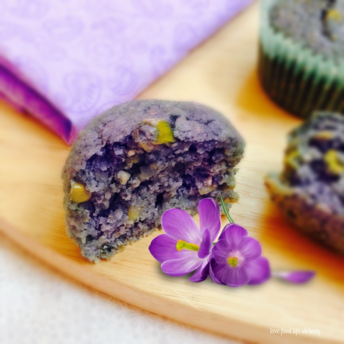 mothers day blue corn muffins