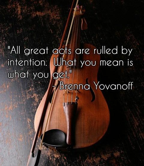 violin quote