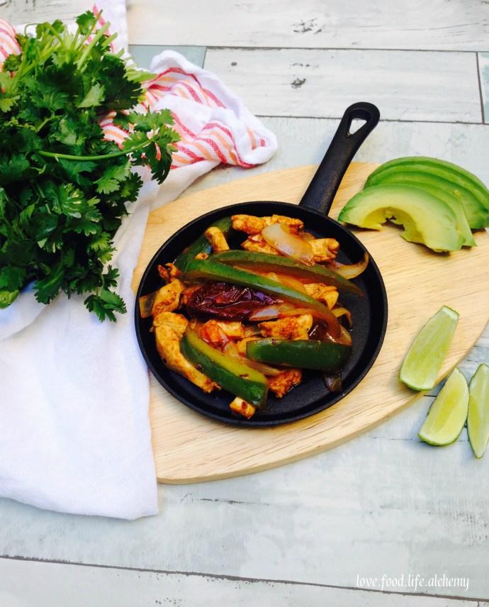 chipotle chicken fajita
