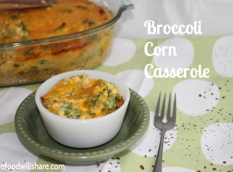 Broccoli Corn Casserole 5