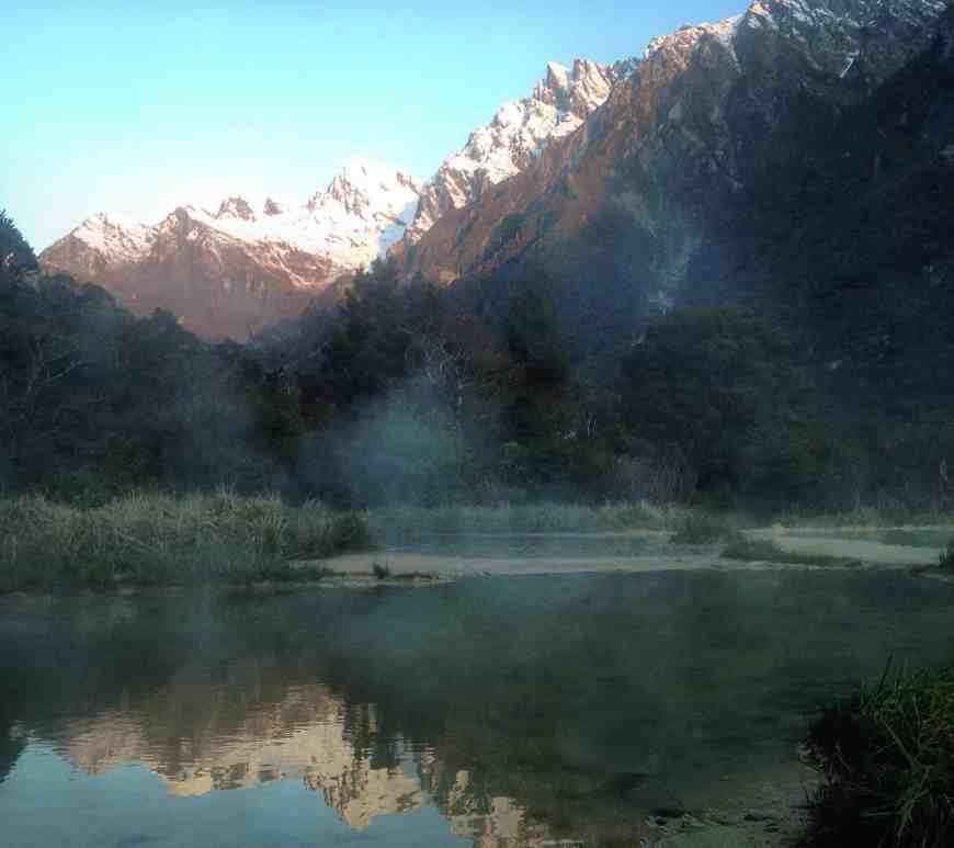 Ellie NZ trek