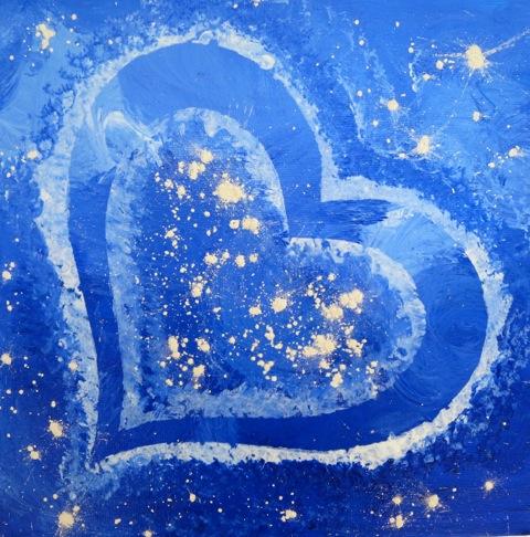 Heart Art Cosmic Sprinkles 1