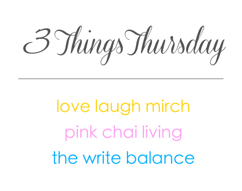 3 Things Thursday Linkup