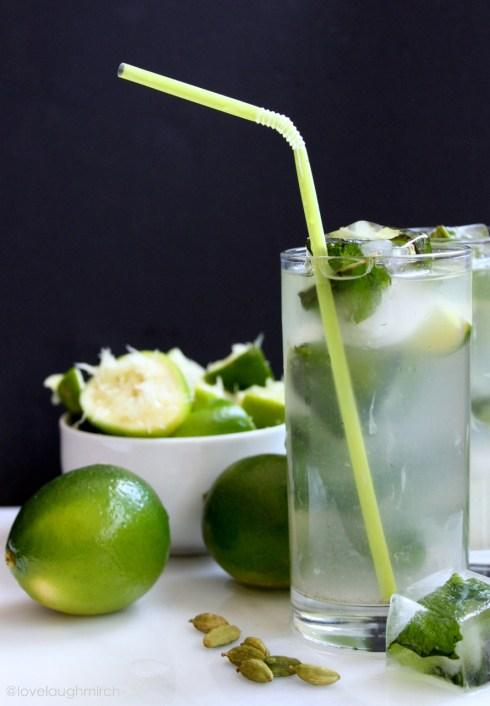 Nimbu Pani | Cardamom Limeade