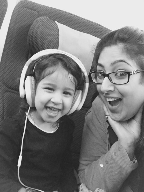 Traveling with Little Mirchi