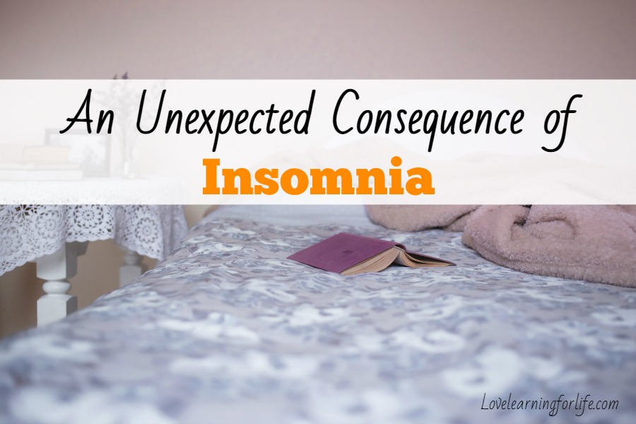 An unexpected consequence of insomnia
