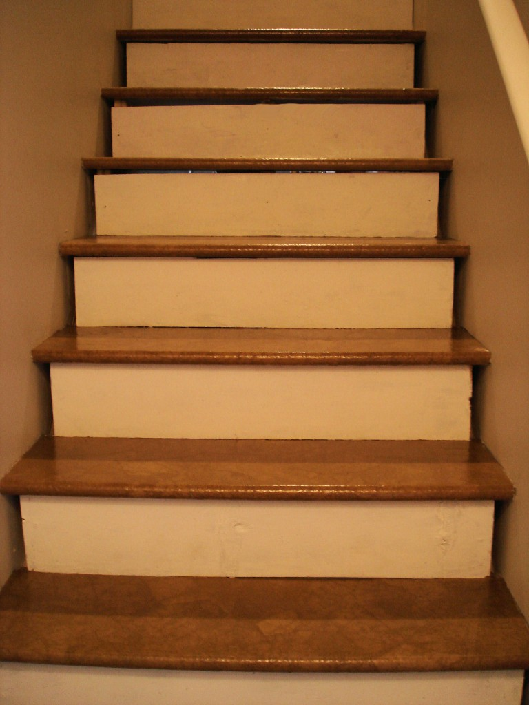 Since These Are Basement Stairs, I Didnu0027t Spend Time Adding Stain. I Did  Already Start Upstairs With Stain Though, And It Looks Amazing.