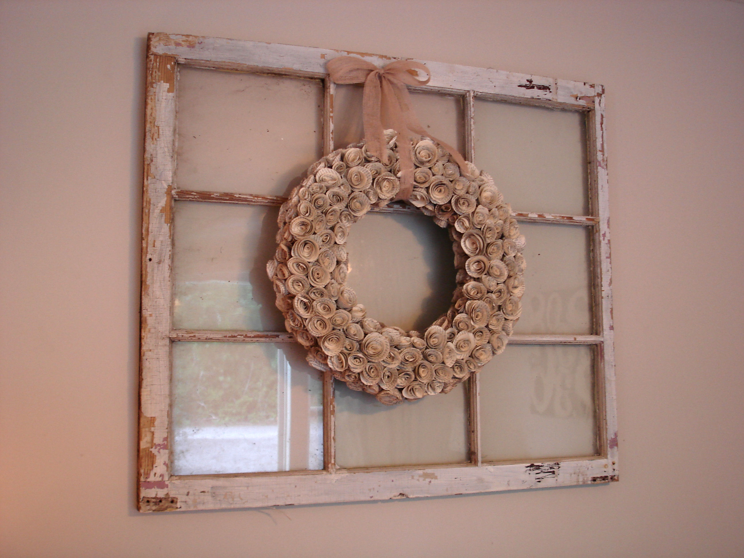 Have You Done Any Decorating With Old Windows? Besides Hanging Them On The  Wall, How Have You Seen Them Used?