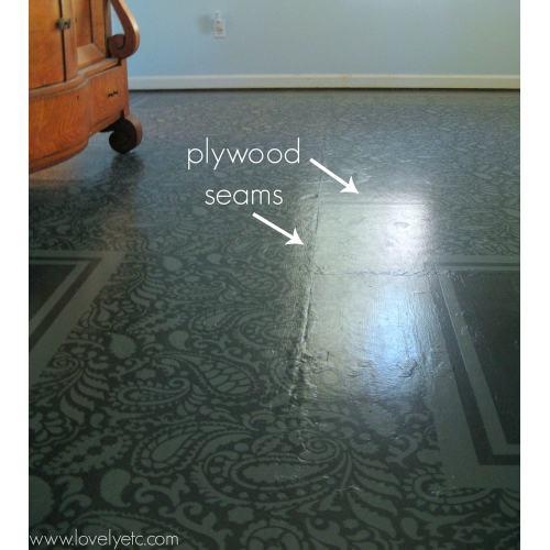 Medium Crop Of Painted Plywood Floors