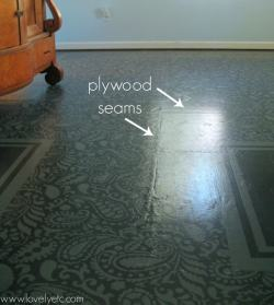Small Of Painted Plywood Floors