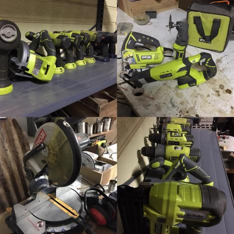 Couldnt do what I do without ryobipowertools ! My greenhellip