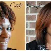 Curly Versus Straight #NoHeatDecember Natural Hair Challenge + Birthday Give Away