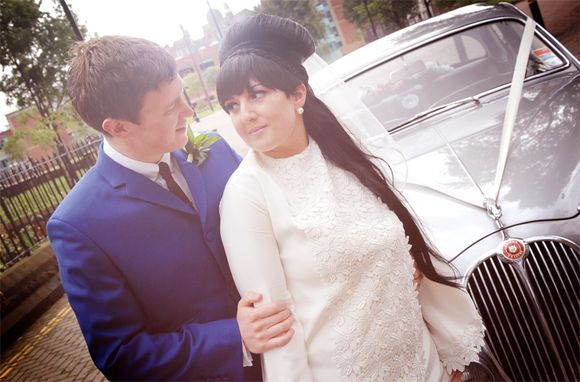 Two 1960's Mod Enthusiasts Tie the Knot…