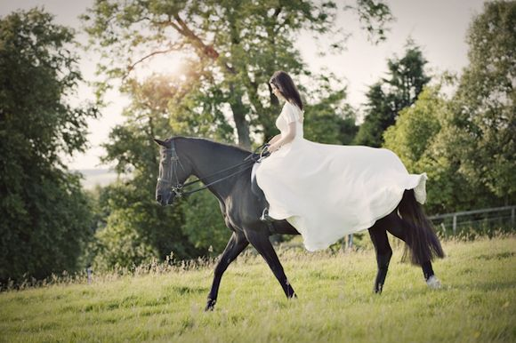 Cherish The Horse? ~ A Post-Wedding Photoshoot With a Difference…