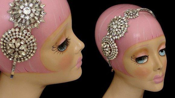 Win a 1920's Vintage Headdress & Art Deco Delight, by Yulia Kunze…