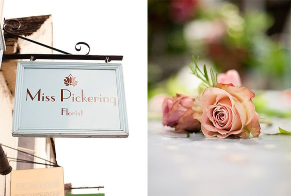 How To 'DIY' Your Wedding Flowers ~ The Miss Pickering Flower School for Brides…