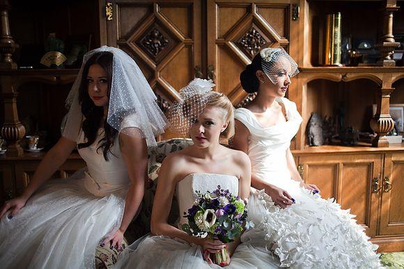 Bridal Blue Inspiration with a Vintage Twist!