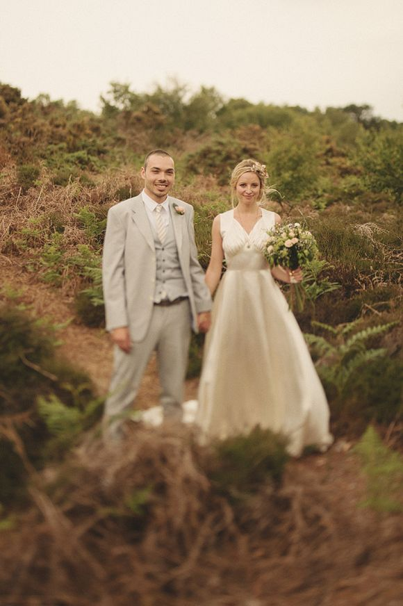 Two Vintage Wedding Dresses for a Relaxed, Seaside Wedding…