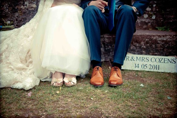 A Wedding in Wales ~ A Short, Sweet Bridesmaids Dress and Lots of Vintage Lace…