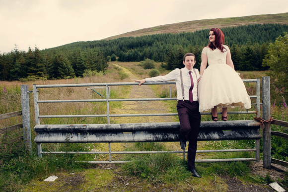 An Outdoor Handfasting, Vintage Inspired Humanist Wedding…