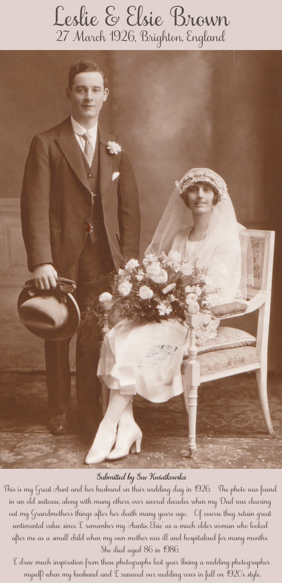 A Preview of 'The Vintage Wedding Gallery' ~ Wedding Photography Through The Decades…