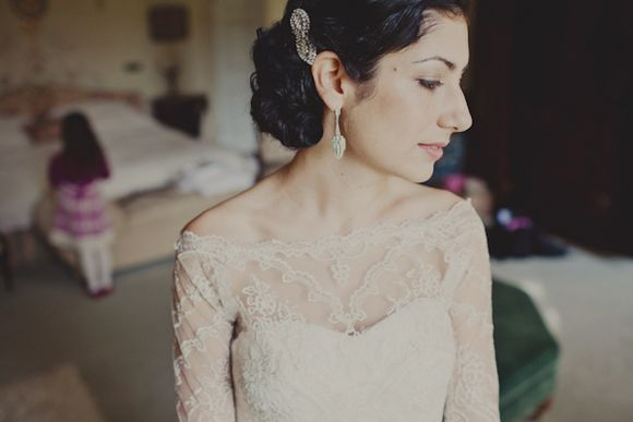 A Vintage Inspired Autumnal Wedding in Shropshire…