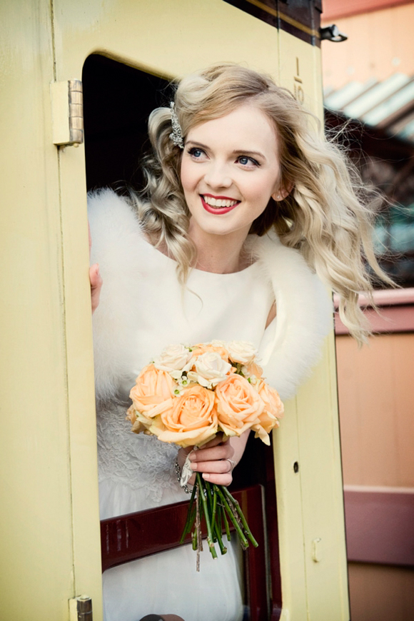 All Aboard the Vintage Express ~ Vintage Bridal Shoot at the Severn Valley Railway…