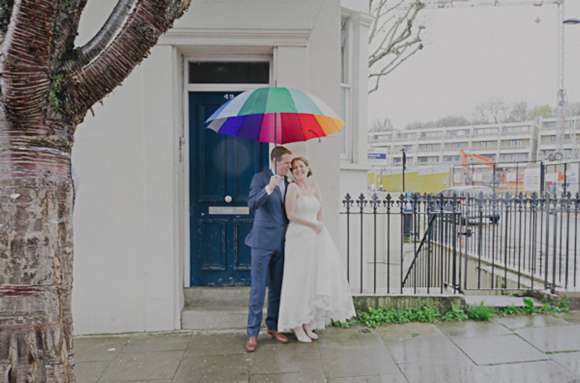Love, Laughter and Smiles on a Rainy Day Wedding in London…