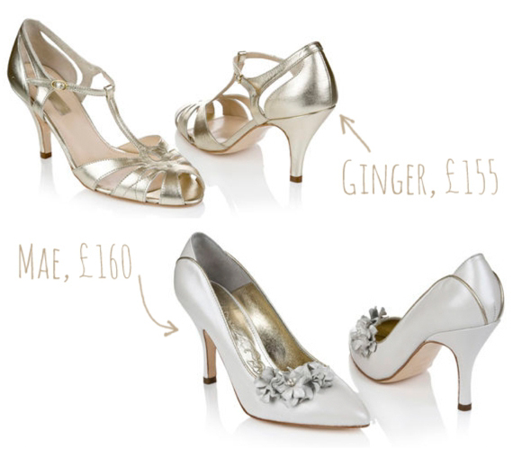 Rachel Simpson ~ Beautiful New Collection of Vintage Inspired Wedding Shoes…