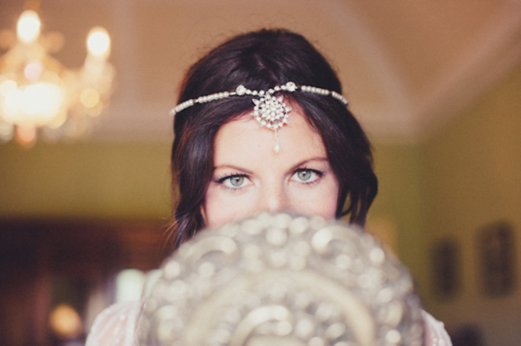 Jenny Packham's Eden For a DIY and Vintage Inpsired, Humanist Hand-Fasting Ceremony in Devon…