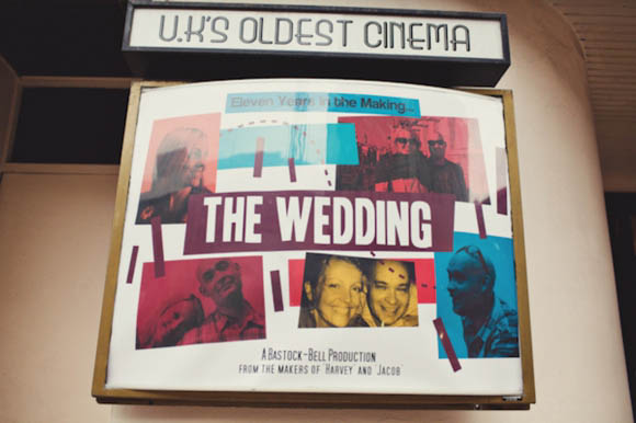 Tiffany Blue & Fifties Movies ~ A Vintage Style Electric Cinema Wedding…