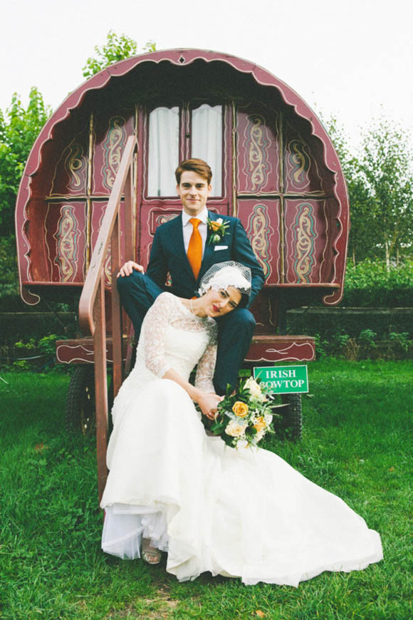 Suzanne Neville, Gypsy Caravans and Rustic Charm ~ An Organic Farm Wedding…