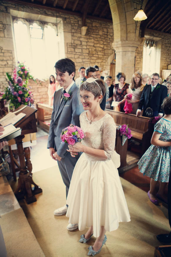 A Fun and Colourful Fifties Inspired Wedding Day Celebration…