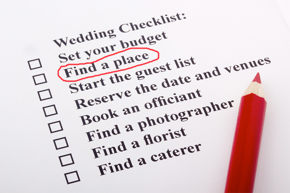How to Find Your Ideal Wedding Venue, And What To Do When You Find It…