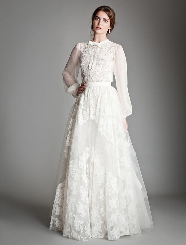 Portrait Collar Wedding Dress 83 Simple The Temperley Bridal Titania