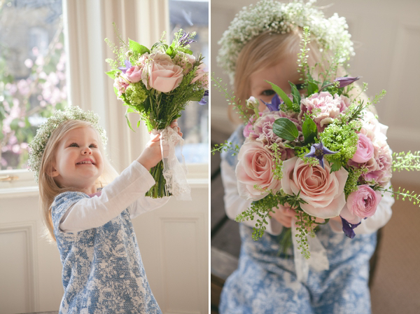 Romantic and Blousy Spring Blooms And A Flower Crown Fit For A Fairy Princess