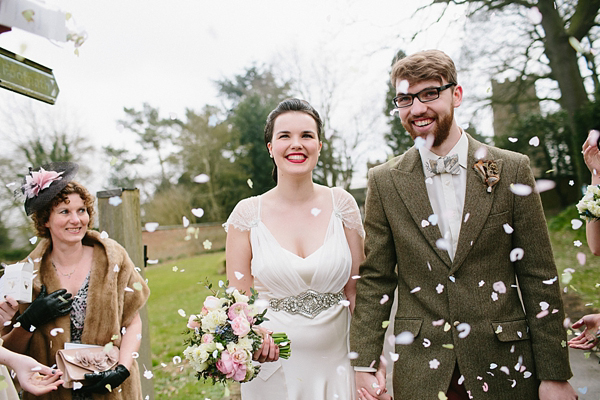 Tweed, Antlers and Charity Shop Finds ~ An Eco-Friendly, English Countryside Inspired Wedding