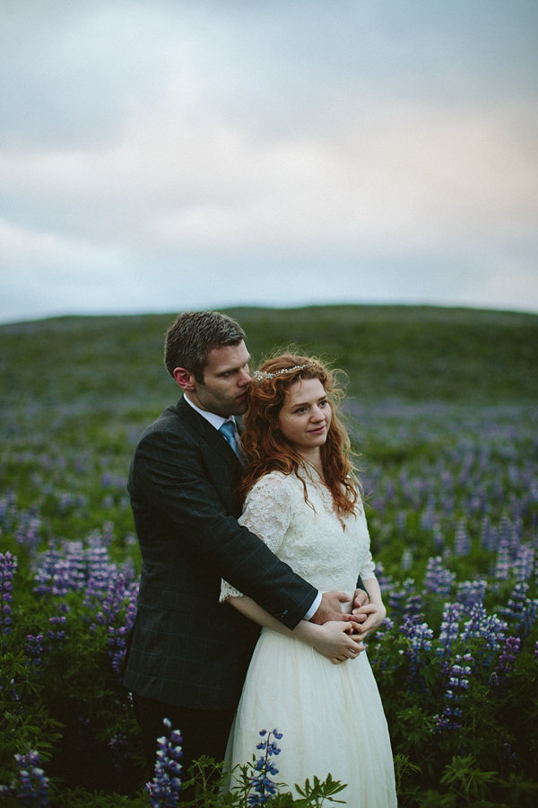 A First Look, J Crew Gown And Dramatic Icelandic Landscapes